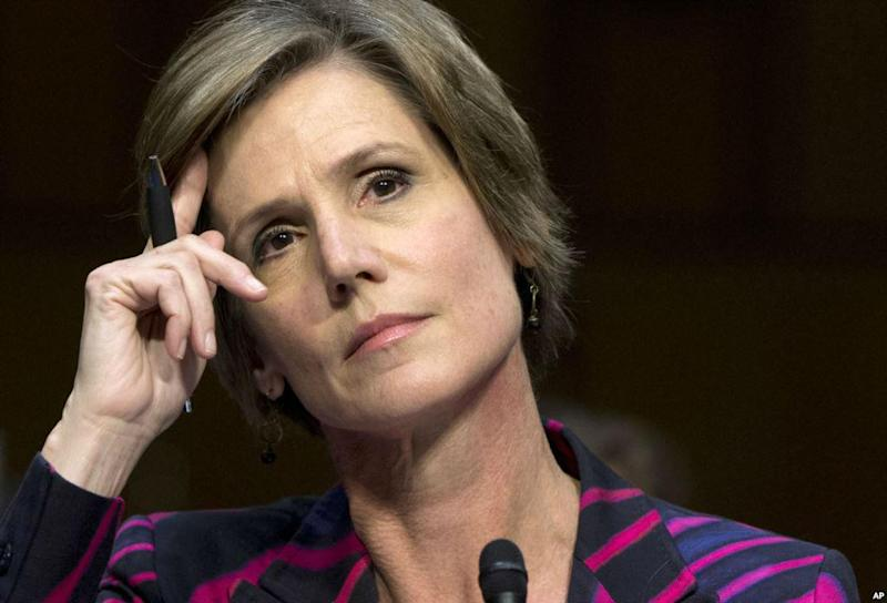 Ms Yates had said she was willing to appear before a congressional committee: AP