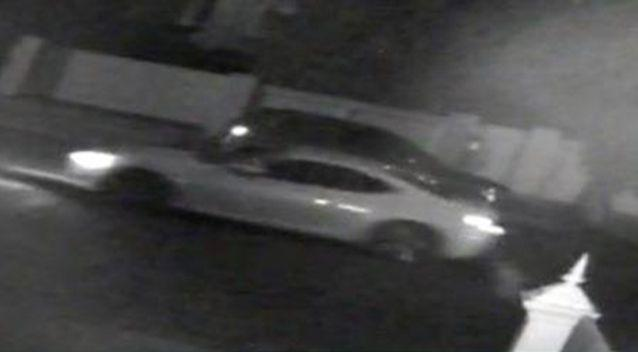 This white sports car was seen in the area shortly before the robbery took place. Picture: Victoria Police
