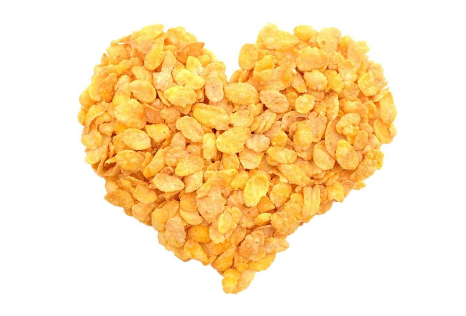 <p>The cereal is a classic choice for its texture and not-to-sweet taste. Crush them to smithereens for a smoother coating (or if you're adding them into a mixture) or leave small chunks of cereal if you're breading chicken. You'll get an extra crunch that way.</p>