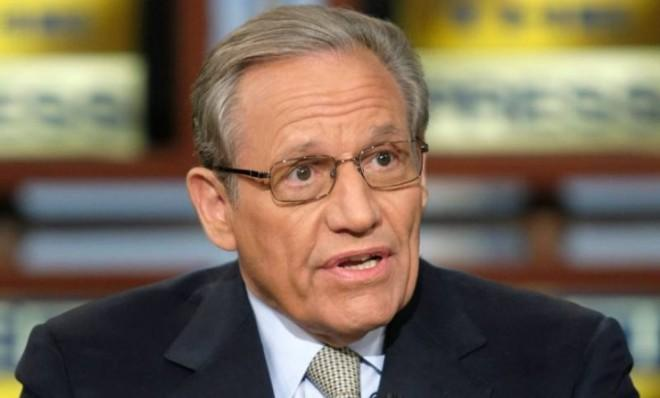 Meet the press: Bob Woodward thinks he's been threatened.