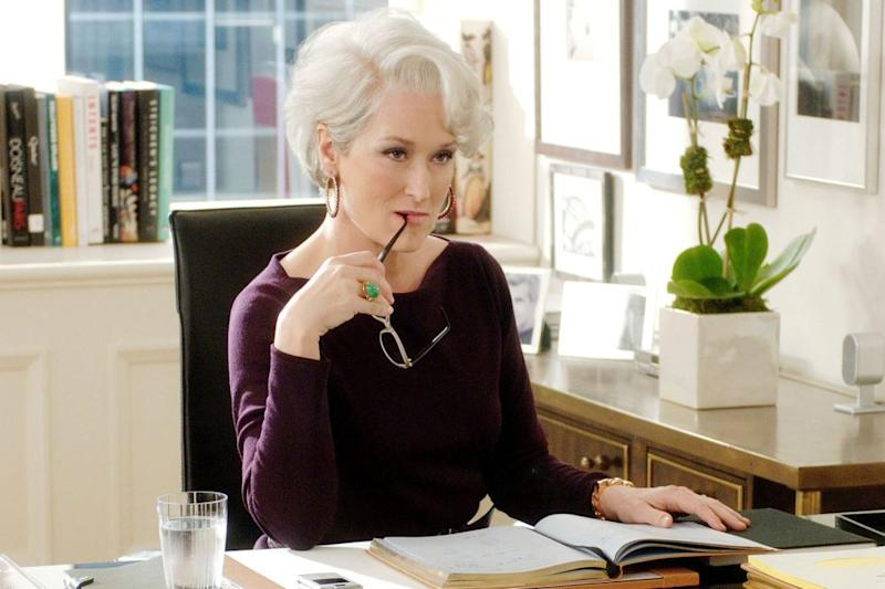 """Anna Wintour interviewed Meryl Streep, but the former did *not* want to talk about """"The Devil Wears Prada"""""""