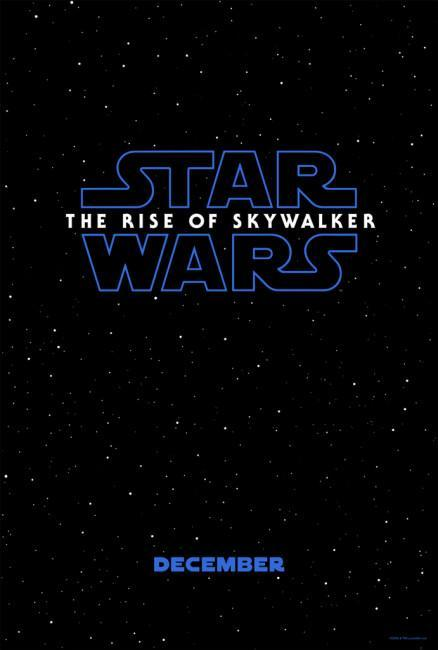 The poster for 'Star Wars: Rise of the Skywalker' (Disney/Lucasfilm)