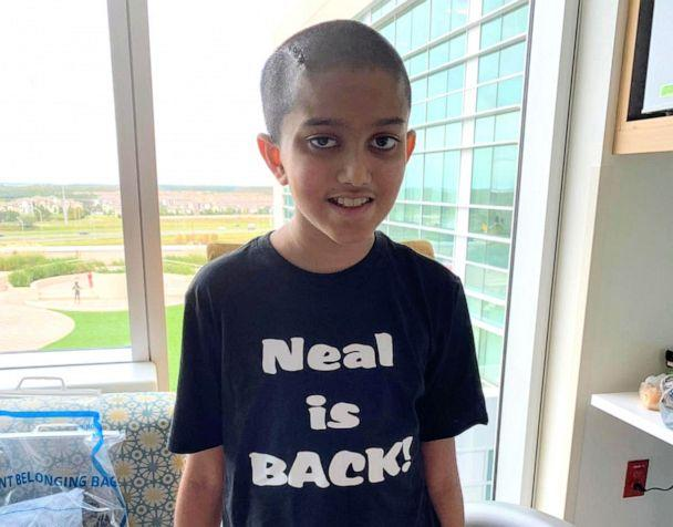 PHOTO: Neal Christie poses at Nemours Children's Hospital in Florida during his recovery. (Courtesy Twinkal Christie)