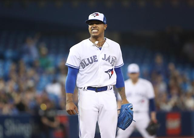 Marcus Stroman didn't enjoy the Blue Jays' negativity at his arbitration hearing