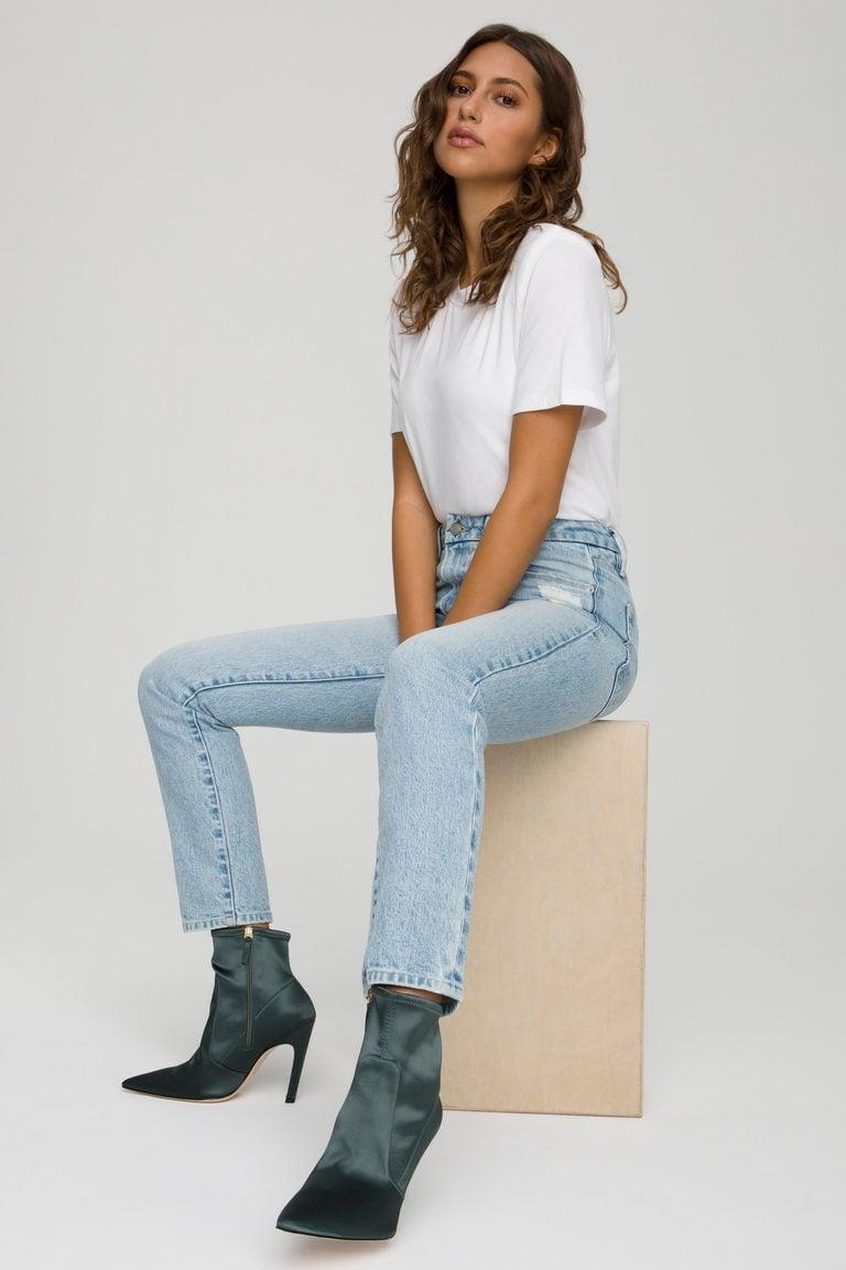 <p>These popular <span>Good American Good Classic Jeans</span> ($159) just restocked, and they are one of my go-to pairs; I can't recommend them enough.</p>