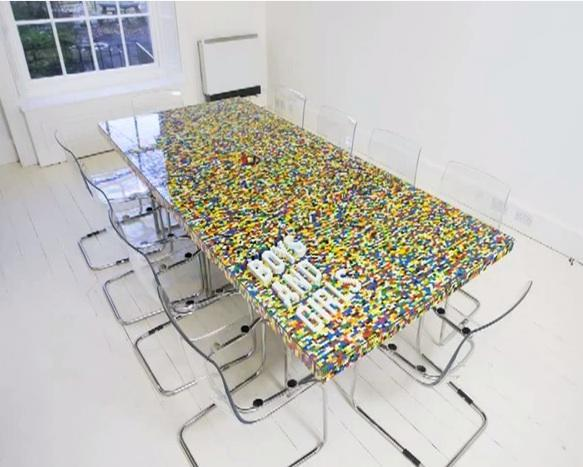 """<div class=""""caption-credit""""> Photo by: YouTube/James Stephenson</div><div class=""""caption-title"""">LEGO Table</div>Talk about an incentive to eat at the dinner table! This colorful, bold design is so eye-catching. Dinner guests are sure to be wowed by this incredible creation! <br> <i><a href=""""http://www.babble.com/mom/20-wacky-yet-practical-items-made-of-legos/?cmp=ELP bbl lp YahooShine Main  011013  20wackyyetpracticalitemsmadeoflegos famE   """" rel=""""nofollow noopener"""" target=""""_blank"""" data-ylk=""""slk:Get the video tutorial at Babble"""" class=""""link rapid-noclick-resp"""">Get the video tutorial at Babble</a> <br> <a href=""""http://www.babble.com/crafts-activities/10-fantastic-diy-cork-projects/?cmp=ELP bbl lp YahooShine Main  011013  20wackyyetpracticalitemsmadeoflegos famE   """" rel=""""nofollow noopener"""" target=""""_blank"""" data-ylk=""""slk:Related: 10 clever ways to use cork in your home decor"""" class=""""link rapid-noclick-resp""""><b>Related: 10 clever ways to use cork in your home decor</b></a></i>"""