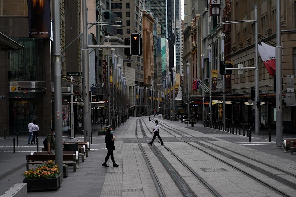 The Covid-19 lockdown has been extended by a month in Sydney as cases continue to rise (Reuters)