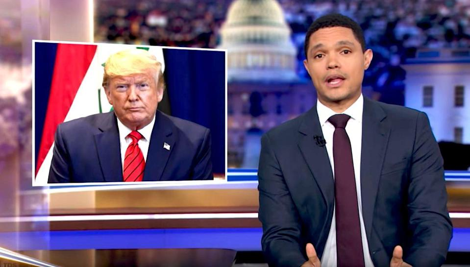 Trevor Noah's Hilarious Analogy For Trump's Presidency Is Absolute Fyre