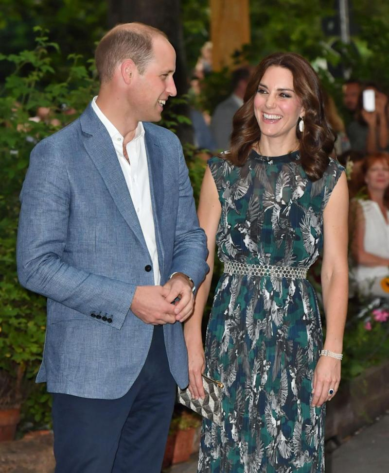 Kate and Wills don't need to physically show affection to prove their love. Photo: Getty