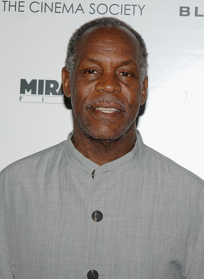 "<a href=""http://movies.yahoo.com/movie/contributor/1800019112"">Danny Glover</a> at the Cinema Society New York screening of <a href=""http://movies.yahoo.com/movie/1809916711/info"">Blindness</a> - 09/22/2008"
