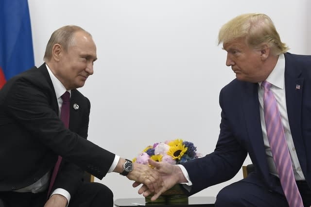 Trumps Two Russias