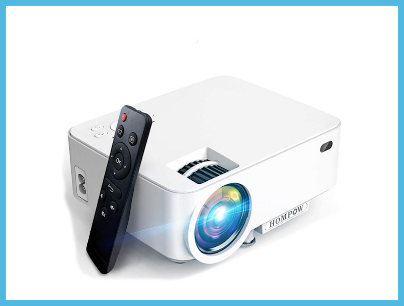 Get this Hompow Digital Projector for just $80. (Photo: Amazon)