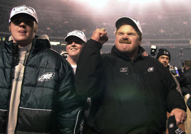 In 14 seasons in Philadelphia, Andy Reid led the Eagles to a 130-93-1 regular season record. (AP)