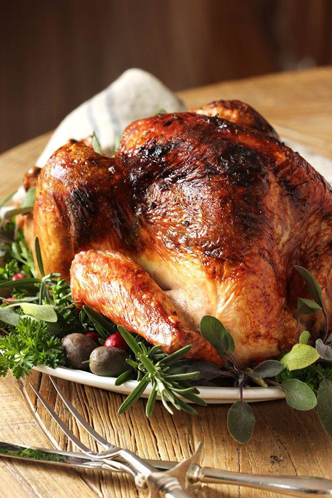 """<p>If you're looking for a super easy dinner that'll impress, this is it.</p><p>Get the recipe from <a href=""""http://thesuburbansoapbox.com/2015/11/01/citrus-and-herb-butter-roasted-turkey/"""" rel=""""nofollow noopener"""" target=""""_blank"""" data-ylk=""""slk:The Suburban Soapbox"""" class=""""link rapid-noclick-resp"""">The Suburban Soapbox</a>.</p>"""