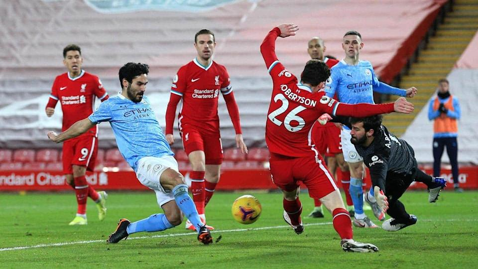 Four-star Manchester City beat Liverpool at Anfield: Records broken