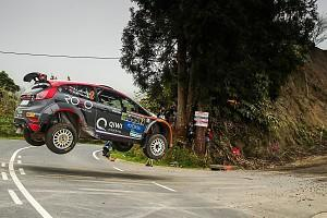 Sometime World Rally driver Alexey Lukyanuk started his 2018 European Rally Championship title pursuit with victory in the Azores Rally, beating local hero Ricardo Moura
