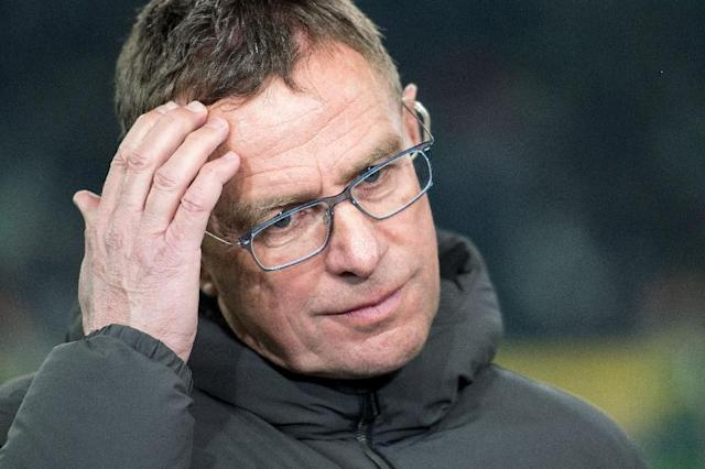 Ralf Rangnick was sporting director at Leipzig after stepping down as coach (AFP Photo/Marius Becker)