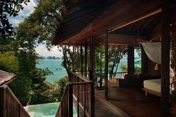 "<div class=""caption-credit""> Photo by: Six Senses</div><div class=""caption-title"">4. Ocean Pool Villa At Six Senses Yao Noi Beyond Phuket In Thailand</div><p>   After just two nights at this 55-villa property on a private island in Thailand's Phang Nga Bay, every guest walks around with a glow that best resembles a blend of being in love and having had the best spa experience of your life. Of course, staying in the romantic indoor/outdoor rustic yet absolutely luxe rooms help (as does the fact that the resort has its own time zone - hideaway time). The ocean view villas are just a step up from the sandalwood-scented property's standard room, offering private plunge pools surrounded by large outdoor lounging areas that are perfect for private Thai BBQs all with jaw-dropping views. For more info, visit <a rel=""nofollow"" href=""http://www.bridalguide.com/planning/wedding-reception/fall-wedding-ideas"" target="""">sixsenses.com</a>. </p> <p>   <b>Related: <a rel=""nofollow"" href=""http://www.bridalguide.com/honeymoons/more-destinations/rooms-with-a-view"" target="""">Posh Hotel Rooms With a View</a></b> </p>"
