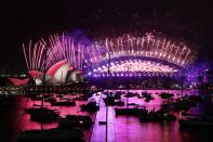 New Year's Eve celebrations in Sydney