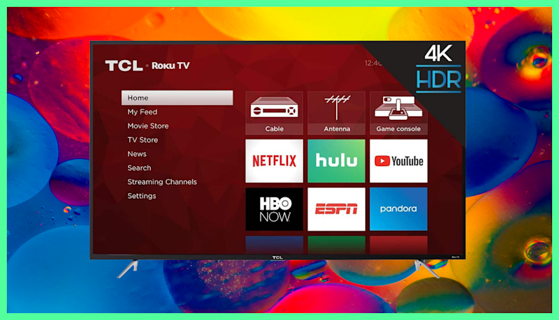 Save $260 on this TCL 65-inch Class 4-Series 4K UHD Roku Smart TV. (Photo: Amazon)