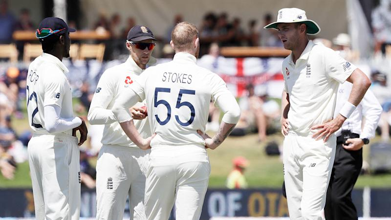 Things got a bit heated between England teammates Ben Stokes and Stuart Broad during the first Test loss.