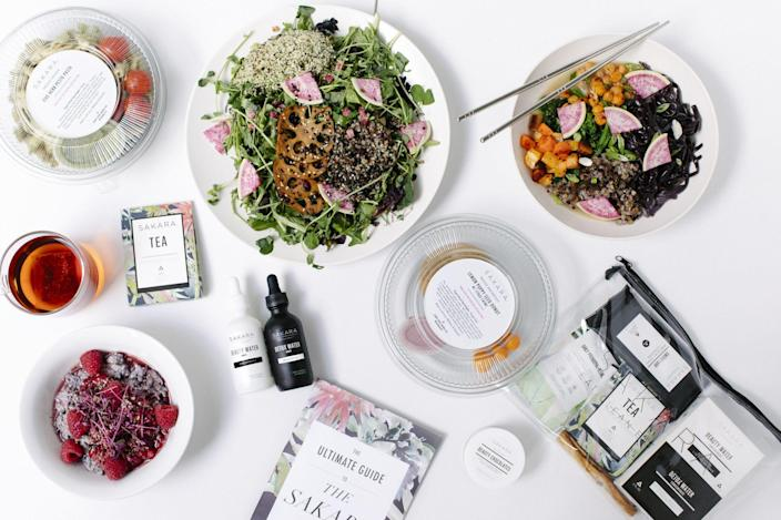 """<p>At the start of quarantine, we were all eager to try out new recipes. Banana bread! A viral pasta trend! Nearly a year later, the thought of cooking for yourself may sound exhausting. Enter Sakara: Beloved by celebrities like Gwyneth Paltrow and Lily Aldridge, this health-conscious meal delivery service offers thoughtfully crafted plant-based foods — with a menu that rotates every week — that are meant to make you feel like your best self. Their signature organic meal delivery program is the perfect place to start, with customizable options that let you choose how many days and meals you'd like. </p> <p><strong>Buy It!</strong> $70-80 per day, <a href=""""https://click.linksynergy.com/deeplink?id=93xLBvPhAeE&mid=43370&murl=https%3A%2F%2Fwww.sakara.com%2Fpages%2Fsignature-omd&u1=PEOTheBestValentinesGiftswithWhichtoTreatYourselfawurzburLifGal12563512202102I"""" rel=""""sponsored noopener"""" target=""""_blank"""" data-ylk=""""slk:sakara.com"""" class=""""link rapid-noclick-resp"""">sakara.com</a></p>"""