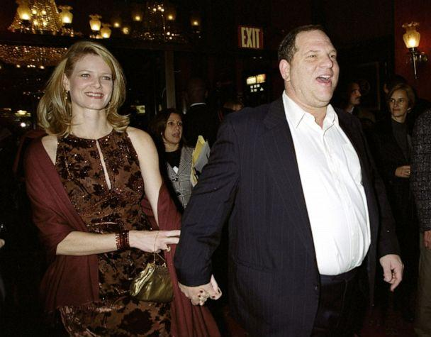 PHOTO: Harvey Weinstein attends a movie premiere with then-wife Eve Chilton Weinstein, Oct. 27, 1999. (NY Daily News via Getty Images, FILE)