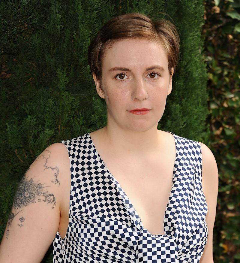 BEVERLY HILLS, CA - OCTOBER 04: Actress Lena Dunham attends the Rape Foundation's annual brunch at Greenacres, The Private Estate of Ron Burkle on October 4, 2015 in Beverly Hills, California. (Photo by Jason LaVeris/FilmMagic)
