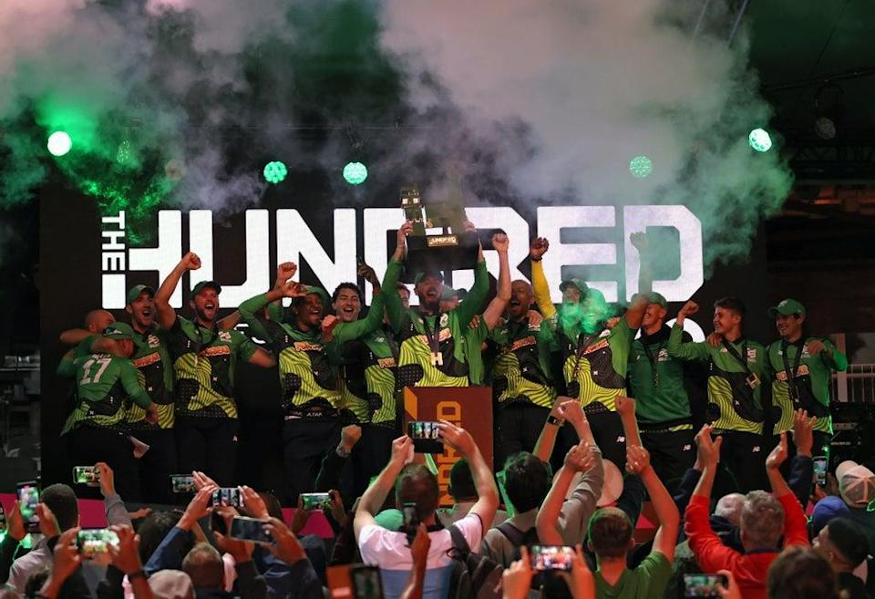 Southern Brave became the first men's champions of The Hundred (Steven Paston/PA) (PA Wire)