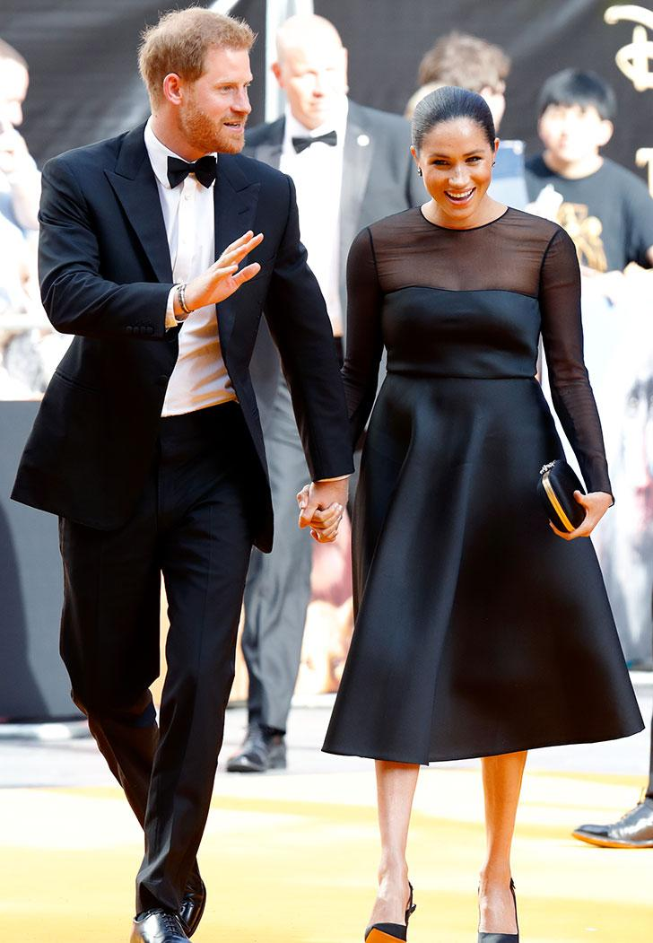 Meghan Markle's Shoes at 'The Lion King' Premiere Were a Literal