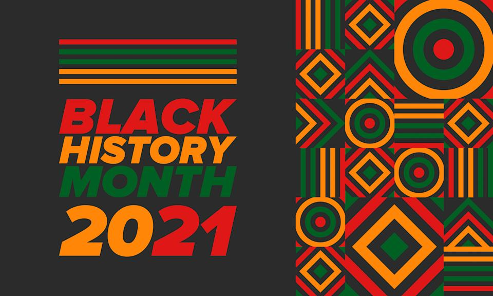 The 2021 version of Black History Month, following a tumultuous 2020, feels different. (Vector illustration/Getty Images)