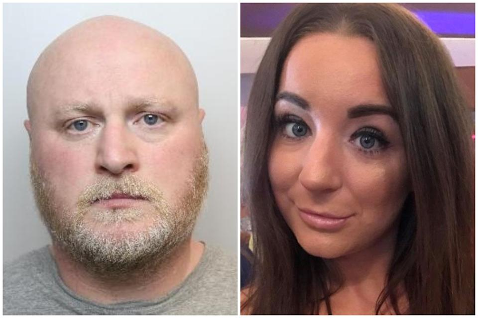 Craig Woodhall has been sentenced for the murder of Victoria, right. (South Yorkshire Police/SWNS)
