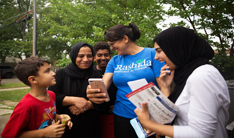 Rashida Tlaib in 'And She Could Be Next' (PBS)