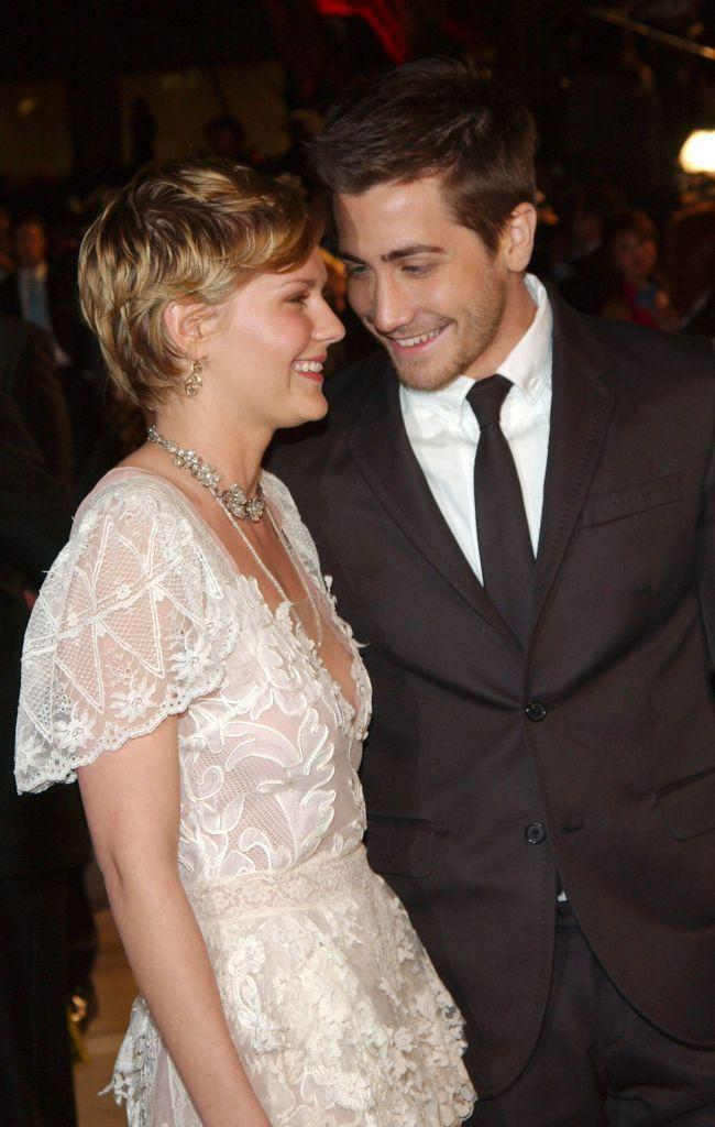 """<p>These two dated for two years in 2002 after being set up by Jake's actor sister Maggie, who worked with Kristen on Mona Lisa's Smile. </p><p>When they broke up in 2004, Jake's rep released a statement which read, """"Kirsten and Jake remain the best of friends. Details regarding when and why their romantic relationship stopped are not being provided, but suffice it to say it happened some time ago. They are still very close.""""</p>"""