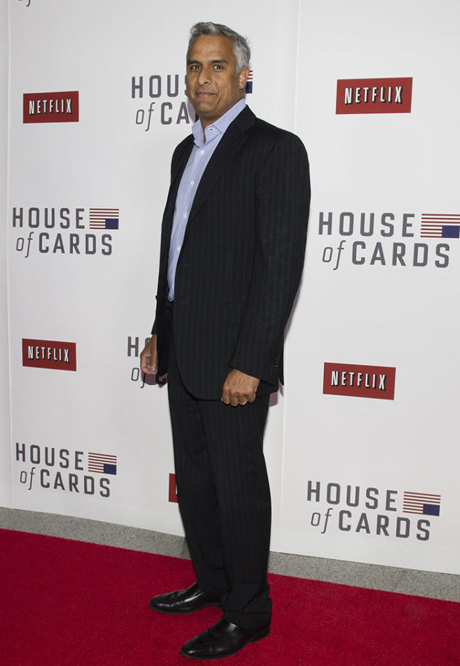 "Asif Satchu attends Netflix's ""House of Cards"" Washington DC Screening at the NEWSEUM on January 29, 2013 in Washington, DC."