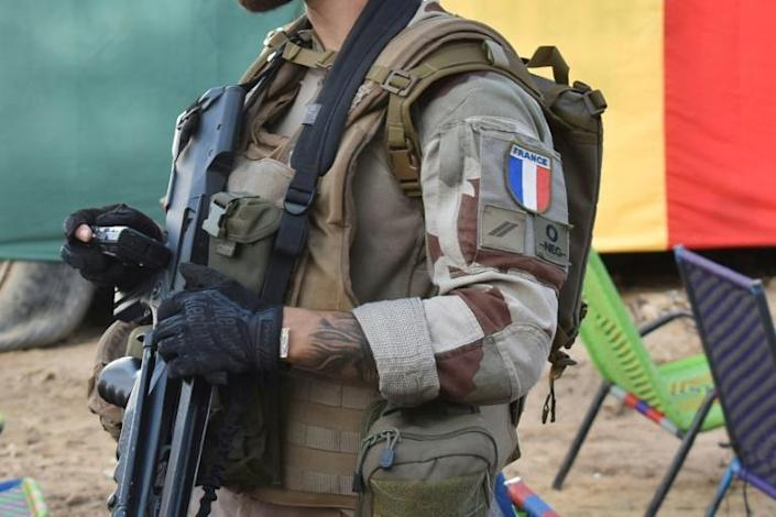 A French soldier in Mali on September 9, 2021 (AFP/Maimouna MORO)