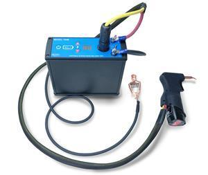 The Model 700B welder unit is a portable, lightweight instrument that is ideal for installing weldable strain gages and temperature sensors to metallic surfaces in difficult industrial and outdoor field environments.