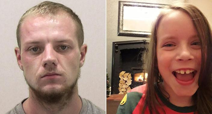 Connor Marsden, left, hit Melissa Tate while 'off his face', a court heard. (PA)