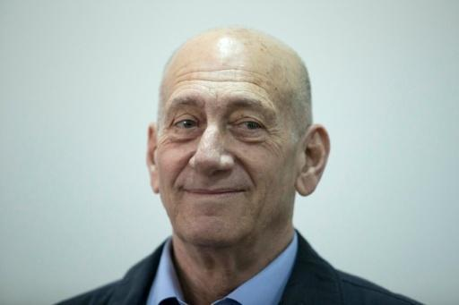 Ex-Israeli PM Olmert to serve jail time on bribery conviction