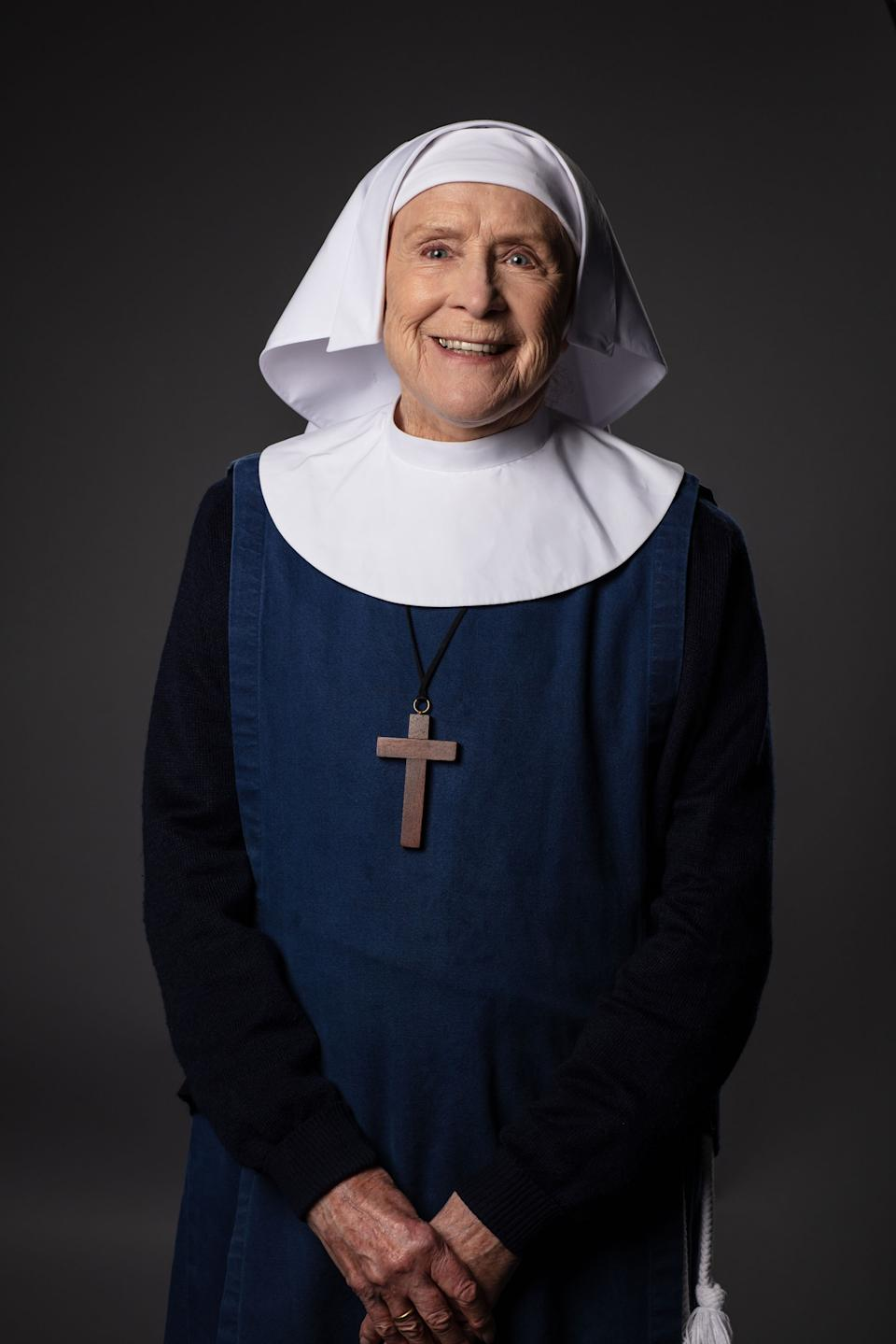 Call the Midwife - S10:  Sister Monica Joan (JUDY PARFITT) (Nealstreet Productions/Sophie Mutevelian)