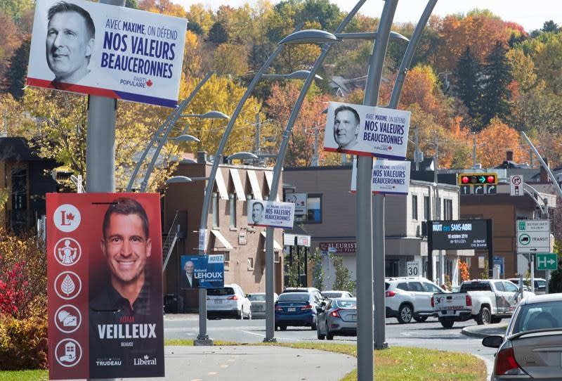 Maxime Bernier testing voters' loyalties in Quebec's conservative Beauce