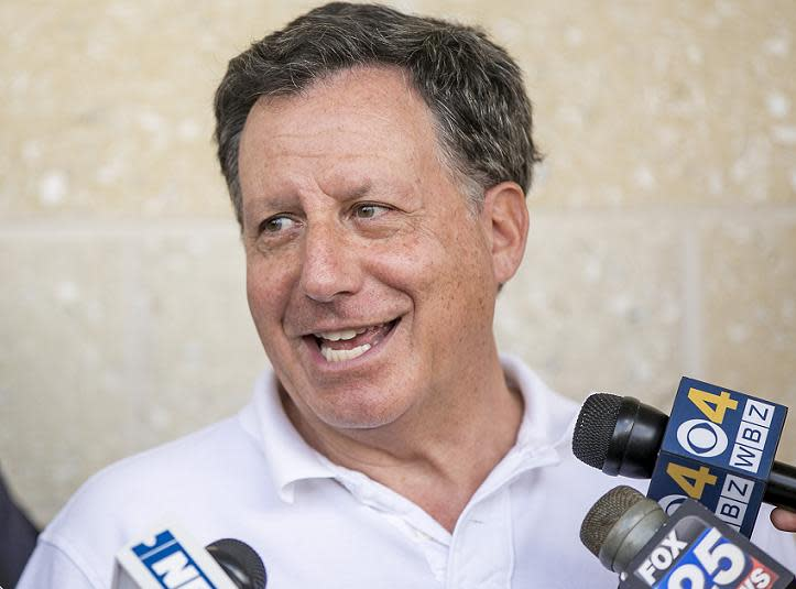 Red Sox Chairman Tom Werner let his displeasure be known with the league's punishment of Padres GM A.J. Preller. (Getty)