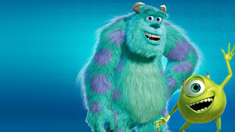 """<p>disneyplus.com</p><p><a href=""""https://go.redirectingat.com?id=74968X1596630&url=https%3A%2F%2Fwww.disneyplus.com%2Fmovies%2Fmonsters-inc%2F5vQuMGjgTZz5&sref=https%3A%2F%2Fwww.countryliving.com%2Flife%2Fentertainment%2Fg30875475%2Fkids-movies-disney-plus%2F"""" rel=""""nofollow noopener"""" target=""""_blank"""" data-ylk=""""slk:STREAM NOW"""" class=""""link rapid-noclick-resp"""">STREAM NOW</a></p><p>Sulley and Mike may be the masters of scare, but they get a taste of their own medicine when a human toddler escapes in their world. </p>"""