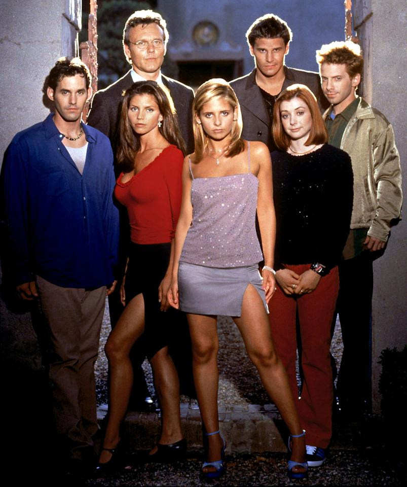 """<p><b>Buffy Turns 20: Celebrating 20 Years of """"Buffy the Vampire Slayer""""<br><br> </b></p><p><b>What:</b> Joss Whedon's <em>other</em> creation also celebrates an anniversary this year, although it sounds as though its creator won't be showing up for this panel. On the other hand, Nicholas Brendon and Kristy Swanson will be on hand to discuss the enduring appeal of """"Buffy"""" across all forms of media.<br> <b><br>When:</b> Sunday, 2:15pm; Room 6BCF<br> <b><br>Appropriate Wait Time:</b> 30 minutes. We'll wait longer for the TV-series-specific 20th anniversary reunion that will probably happen in 2017.</p>"""