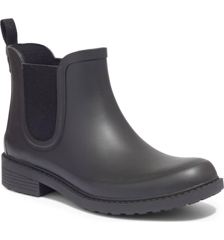 <p>You're never going to want to take off these <span>Madewell The Chelsea Waterproof Rain Boots</span> ($68).</p>
