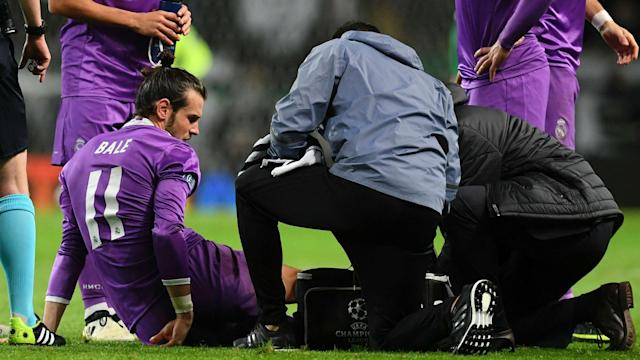 Gareth Bale's ankle injury will be assessed on Wednesday after he limped out of Real Madrid's 2-1 Champions League win at Sporting CP.