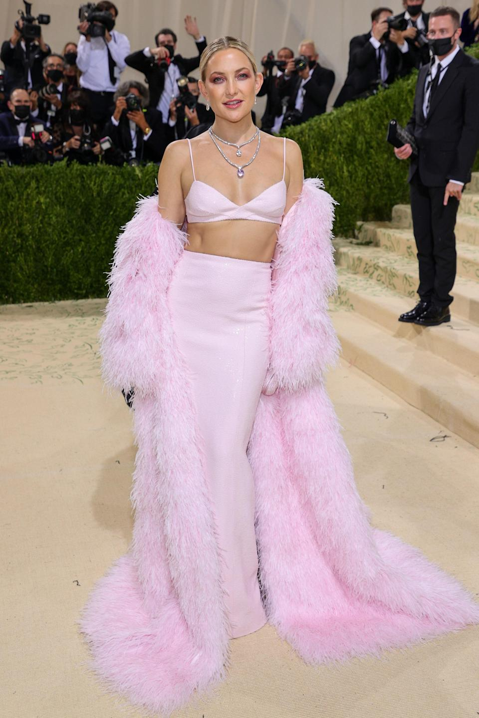 """<h1 class=""""title"""">Kate Hudson, The 2021 Met Gala Celebrating In America: A Lexicon Of Fashion - Arrivals</h1><cite class=""""credit"""">Getty</cite>"""