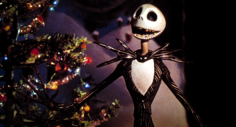 Movie still from 'The Nightmare Before Christmas'