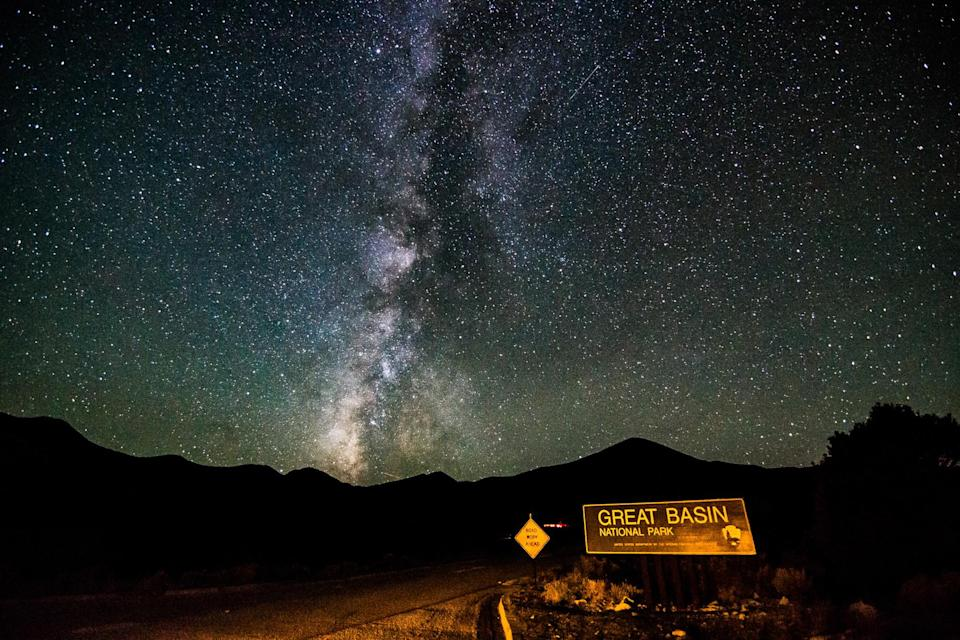 A starry sky at Great Basin National Park.