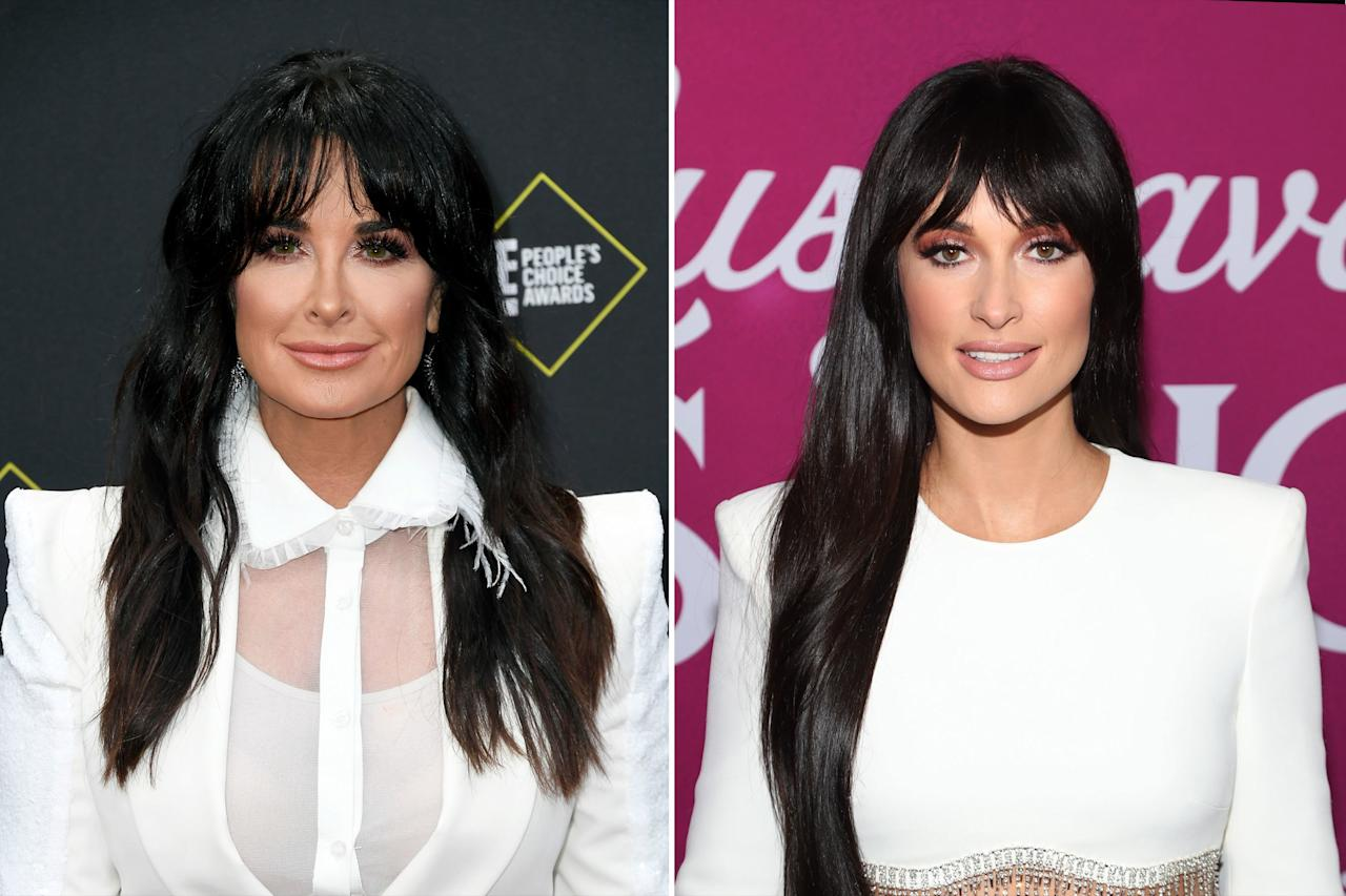 """""""So many people say that [Kacey Musgraves] & I look alike. Have to agree,"""" <a href=""""https://www.instagram.com/kylerichards18/?hl=en"""">Richards wrote on Instagram</a> following a May 2019 episode of<em>Real Housewives of Beverly Hills.</em> She also shared a pic of Musgraves in her blonde, <a href=""""https://people.com/style/met-gala-2019-kacey-musgraves-moschino-barbie/"""">Barbie-inspired Met Gala getup</a>, writing, """"Then my friend pointed out how Kacey looks like my niece Paris Hilton here. Who people think looks like me but blonde. So maybe Kacey is a long lost relative."""""""